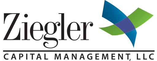 Ziegler Capital Management green blue and purple logo
