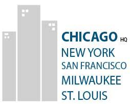 Chicago (HQ), New York, San Fran, Milwaukee, St. Louis